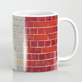 France flag on a brick wall Coffee Mug