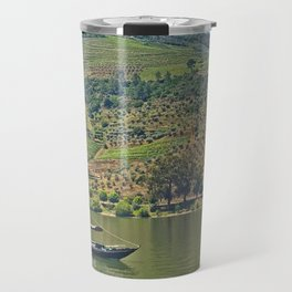 Views of the Douro wine country, off the Douro River, while lunching Travel Mug