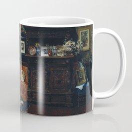 William Merritt Chase - Studio Interior - Digital Remastered Edition Coffee Mug