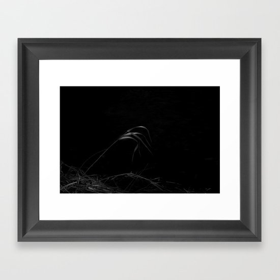 cold January water Framed Art Print