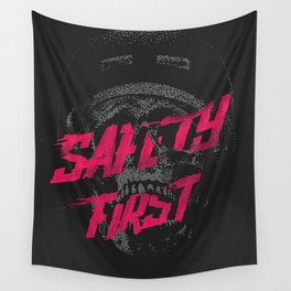 Safety First Wall Tapestry