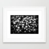 moss Framed Art Prints featuring Moss by Crazy Thoom