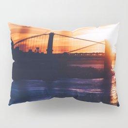 New York bridge Pillow Sham