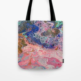 Flamingos by the Sea Tote Bag