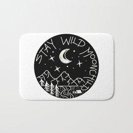 Stay Wild Moonchild Bath Mat