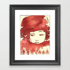 Lady-2 Framed Art Print