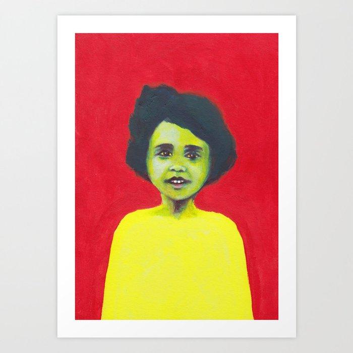 Les petites filles I.8 Art Print