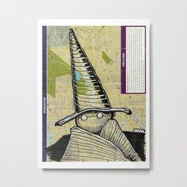 Worcester, Massachusetts Metal Print