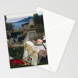 John William Waterhouse - Saint Cecilia Stationery Cards
