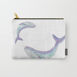 Magical mom and baby whale Carry-All Pouch