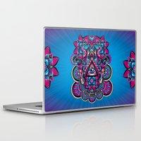 hamsa Laptop & iPad Skins featuring HAMSA by Fly Design Studio