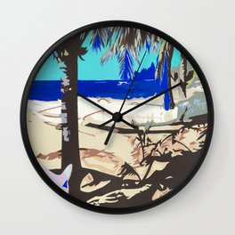 Outrigger Wall Clock