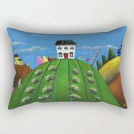 Hilly Hardwork Rectangular Pillow