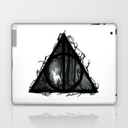 Deathly Hallows - Prongs in the forest with brenches | Marauders - Potterhead - Patronus Laptop & iPad Skin