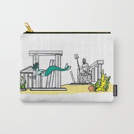 Underwater Scene Carry-All Pouch
