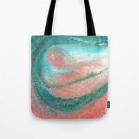 madonna Tote Bags featuring Marine Madonna by Catherine Holcombe