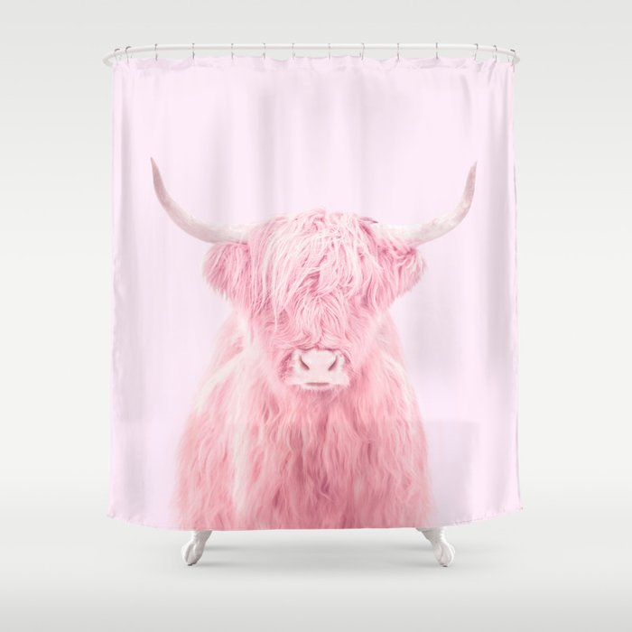 HIGHLAND COW Shower Curtain By Paulfuentes