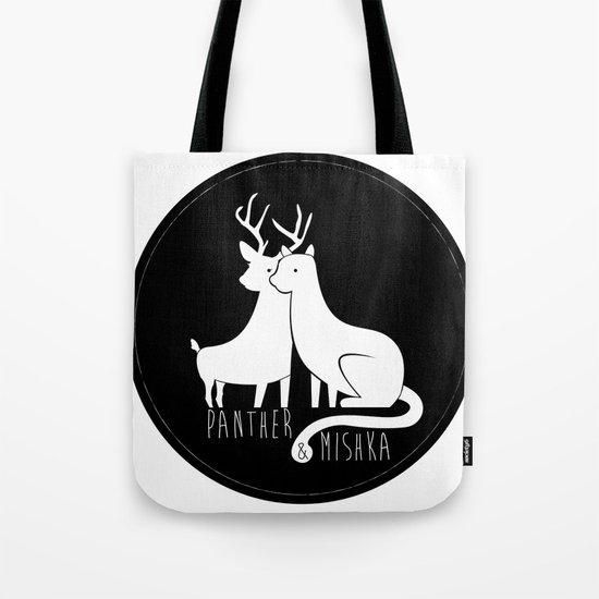 Panther & Mishka Tote Bag