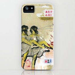 Killer bees iPhone Case