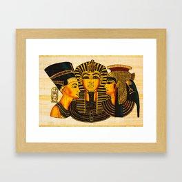 Egyptian Royalty Framed Art Print