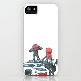 Which Plug to Pull? iPhone Case