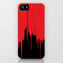 Paint it Red iPhone Case
