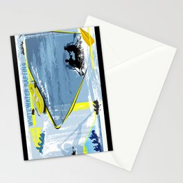 Whitewater Rafting Stationery Cards