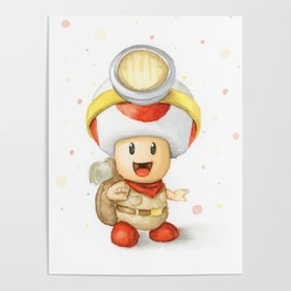 Captain Toad Poster