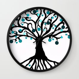 """""""Tree of Life"""",Artistic hand drawing, with Graphic Artwork,Throw Pillow,Duvet Cover,Bed spread,Frame Wall Clock"""