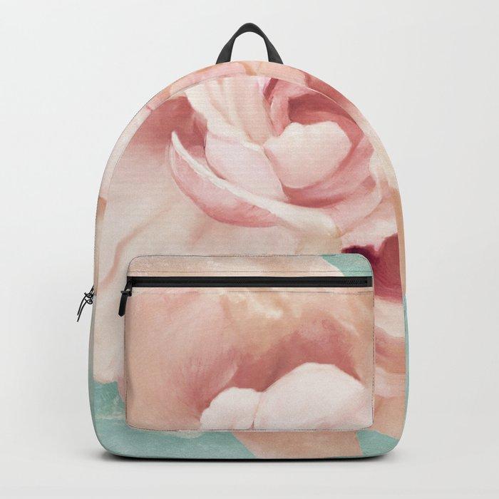 Petals Impasto Mint Backpack