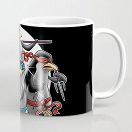 Ninja Penguins Coffee Mug