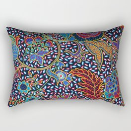Tahitian Tropical Print Rectangular Pillow