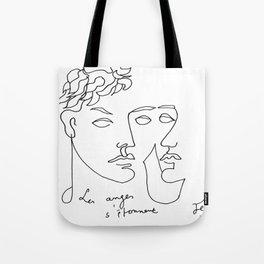 Jean Cocteau Homme  Tote Bag