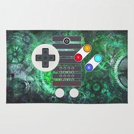 Classic Steampunk Game Controller Rug