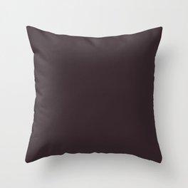 Tread Lightly ~ Mahogany Throw Pillow