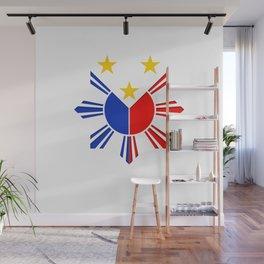 Proud Filipino Philippines Flag Pride Wall Mural