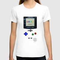gameboy T-shirts featuring GAMEBOY by MiliarderBrown