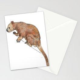 Indecisive Tree Kangaroo Stationery Cards