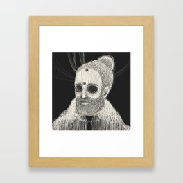 HOLLOWED MAN Framed Art Print