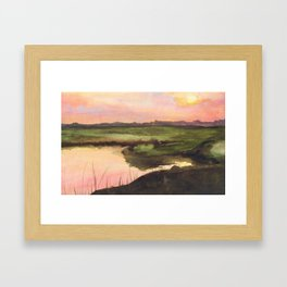 mizuumi Framed Art Print