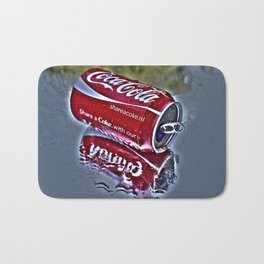 Chilly cola in the hot summer day  Bath Mat