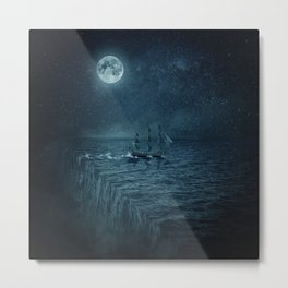 Multiverse parallelism theory Metal Print