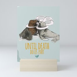 Until death do us part Mini Art Print