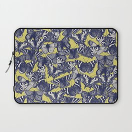 butterfly yellow Laptop Sleeve