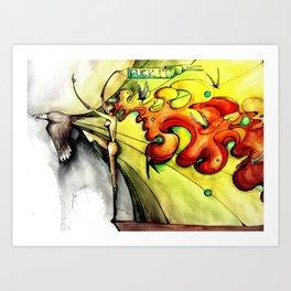 Mascotto Art Print