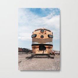 Retired Railway Metal Print