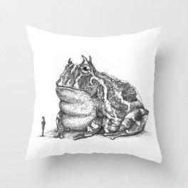 Tiddalik Throw Pillow