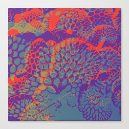 psychedelic beauty Canvas Print