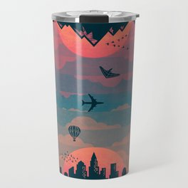 Sunrise / Sunset (alternate) Travel Mug