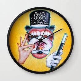 Boy Magic Tour Poster Wall Clock